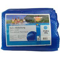 Summer Fun kék polietilén szolártakaró kerek medencéhez 500 cm