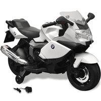 Elektromos BMW 283 gyerek motorkerékpár 6 V fehér