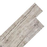 vidaXL világos tölgy öntapadó 2 mm-es PVC padló burkolólap 5,02 m²