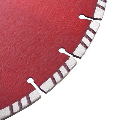 vidaXL gyémánt vágókorong turbó acéllal 350 mm