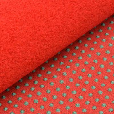 vidaXL piros szegecses aljú műfű 20 x 1 m
