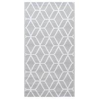 vidaXL szürke PP kültéri szőnyeg 120 x 180 cm