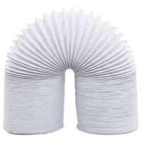 vidaXL PVC elszívócsatorna 6 m 10 cm