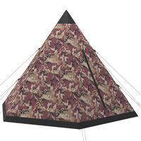 vidaXL többszínű négyszemélyes sátor