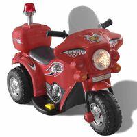 Elemmel Működő Ride On Játék Motorkerékpár (Piros)
