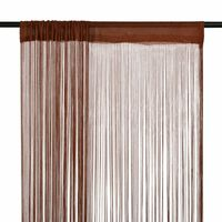 vidaXL 2 db barna zsinórfüggöny 140 x 250 cm