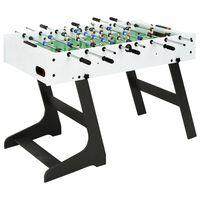 vidaXL fehér összecsukható csocsóasztal 121 x 61 x 80 cm