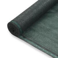 vidaXL zöld HDPE teniszháló 1,4 x 25 m