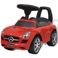 Mercedes Benz Toló Gyerekek Autó Piros