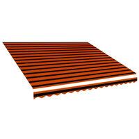 vidaXL narancssárga és barna napellenző ponyva 400 x 300 cm