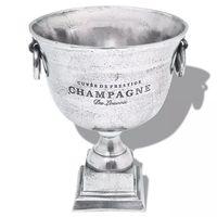 vidaXL győzelmi kupa pezsgőhűtő alumínium ezüst