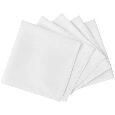 25 db szalvéta 50 x 50 cm fehér