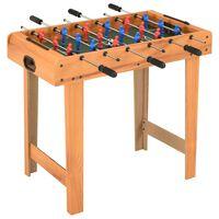 vidaXL juharszínű mini csocsóasztal 69 x 37 x 62 cm