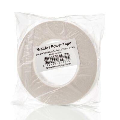 WallArt kétoldalas átlátszó ragasztószalag