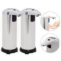 vidaXL 2 db automata szappanadagoló infravörös érzékelővel 600 ml