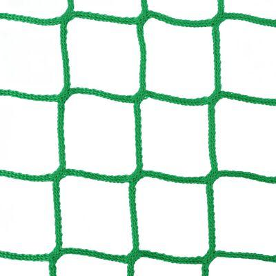vidaXL 2 db kör alakú PP széna háló 1x1 m