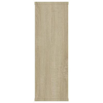 vidaXL Sonoma-tölgy színű forgácslap fali polcok 104 x 20 x 58,5 cm