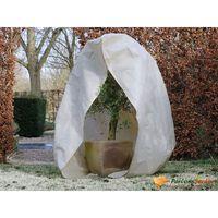Nature bézs téli cipzáras gyapjútakaró 70 g/m2 2 x 1,5 x 1,5 m