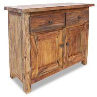 vidaXL újrahasznosított, tömör fa tálaló 75 x 30 x 65 cm