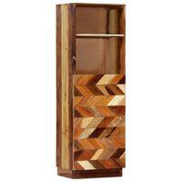 vidaXL tömör újrahasznosított fa tálalószekrény 40 x 32 x 122 cm