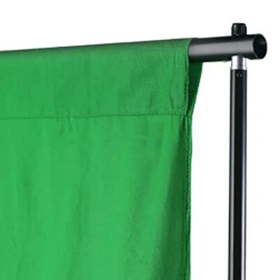 vidaXL zöld pamut háttér blueboxhoz 300 x 300 cm