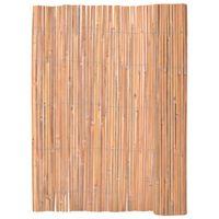 vidaXL bambusz kerítés 125 x 400 cm