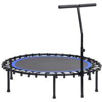 vidaXL fitnesz trambulin kapaszkodóval 122 cm