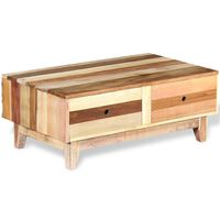 vidaXL tömör újrahasznosított fa dohányzóasztal