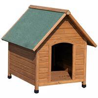 Kerbl barna és zöld kutyaház 100 x 88 x 99 cm