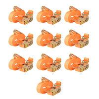 vidaXL 10 db narancssárga racsnis spanifer 0,4 tonna 6 m x 25 mm