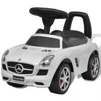 Mercedes Benz Toló Gyerekek Autó Fehér