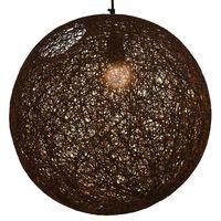 vidaXL barna gömb alakú függőlámpa 45 cm E27