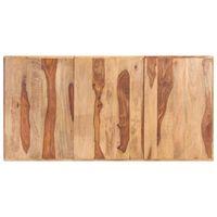 vidaXL tömör kelet-indiai rózsafa asztallap 16 mm 160 x 80 cm
