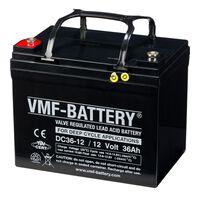 VMF AGM DC36-12 mélyciklusú akkumulátor 12 V 36 Ah