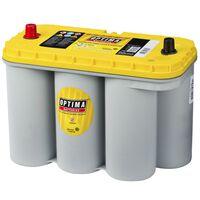 Optima 12 V 75 Ah YT S-5.5 sárga tetős akkumulátor