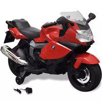 Elektromos BMW 283 gyerek motorkerékpár 6 V piros