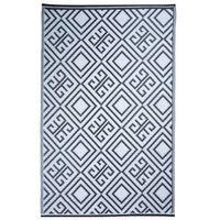 Esschert Design grafikai mintás kültéri szőnyeg 120 x 186 cm OC12