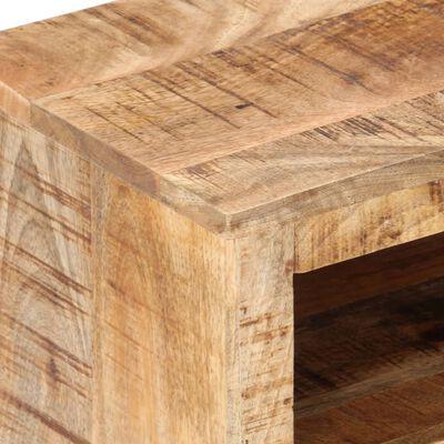 vidaXL nyers mangófa TV-szekrény 120 x 30 x 40 cm