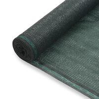 vidaXL zöld HDPE teniszháló 1,8 x 25 m