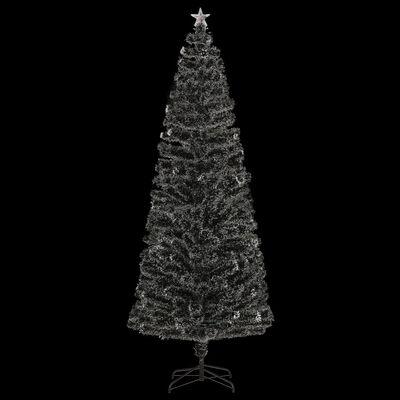 vidaXL 380 ágas műkarácsonyfa talppal és LED fénnyel 240 cm