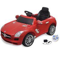 Mercedes Benz SLS AMG Elektromos kisautó távirányítóval 6 V piros