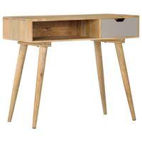 vidaXL tömör mangófa tálalóasztal 89 x 44 x 76 cm