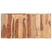 vidaXL tömör kelet-indiai rózsafa asztallap 16 mm 140 x 70 cm