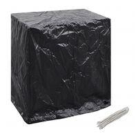 vidaXL takaróponyva pingpongasztalra, 8 fűzőlyukkal, 160x55x182 cm