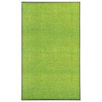 vidaXL zöld kimosható lábtörlő 90 x 150 cm