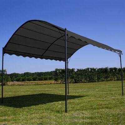 vidaXL antracitszürke napellenző 3 x 4 m
