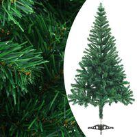 vidaXL 380 ágas műkarácsonyfa talppal 150 cm