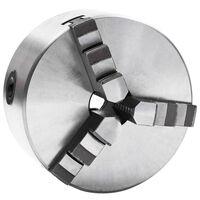 vidaXL 3 szorítópofás önközpontosító acél esztergatokmány 125 mm