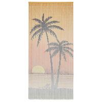 vidaXL bambusz szúnyogháló ajtófüggöny 90 x 200 cm