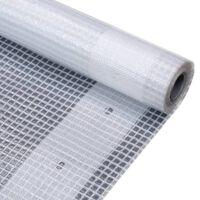 vidaXL fehér takaróponyva 260 g/m² 3 x 2 m
